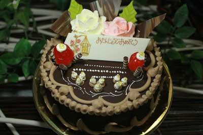 チョコレート&バタークリーム