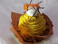 あんのう芋のモンブラン