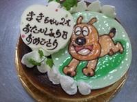 イラストのケーキ14