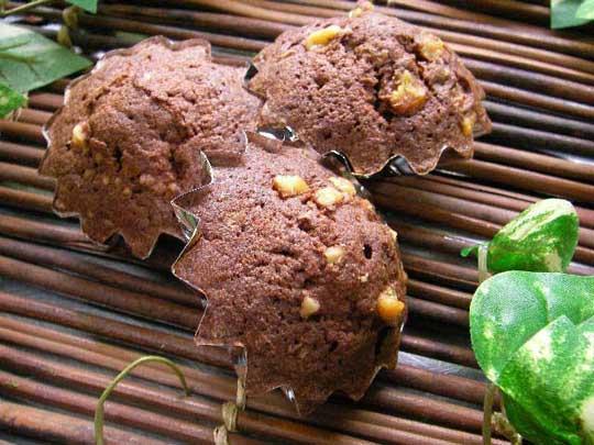 チョコレートのミニ・マドレーヌ